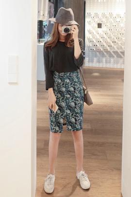 [SALE]center cut, skirt