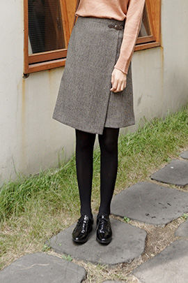 please sir, skirt [울60]