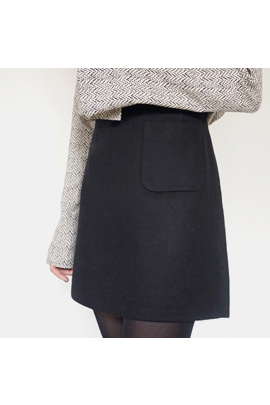clockwork, skirt [울80]