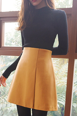 by me, skirt [울60]