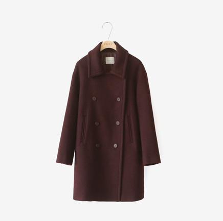 from wine, coat [울90,조끼SET]