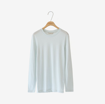 french, tee (sky blue)