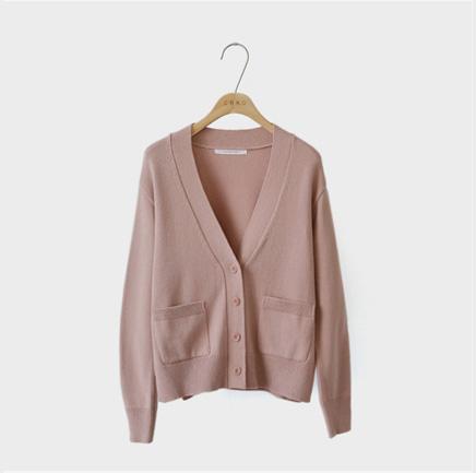 one love, cardigan (pink)