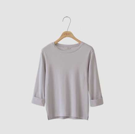 rolling, tee (light gray)
