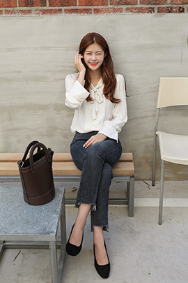 sande, blouse