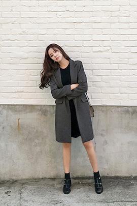 slim basic, coat