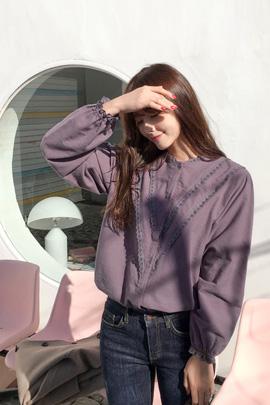 grapevine, blouse [기모원단]