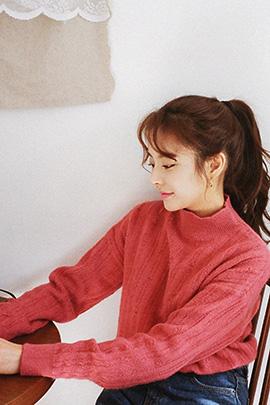 color double, knit