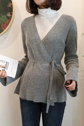gray lap, cardigan