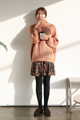 pinkie, knit