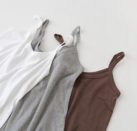 long inner, sleeveless