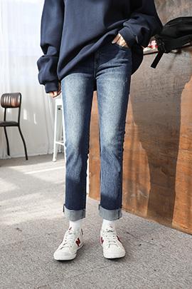 qui part, jeans [기모안감]