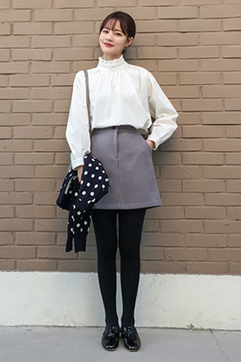 button coloring, skirt