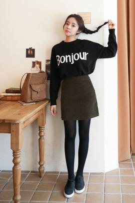 mujer girlish, knit