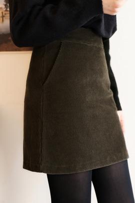 golden mini  an, skirt