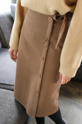 blazin, skirt [기모안감]