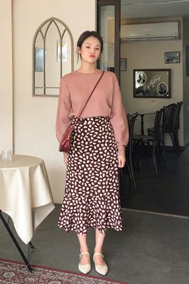 [10/5일 입고]pink puff, knit