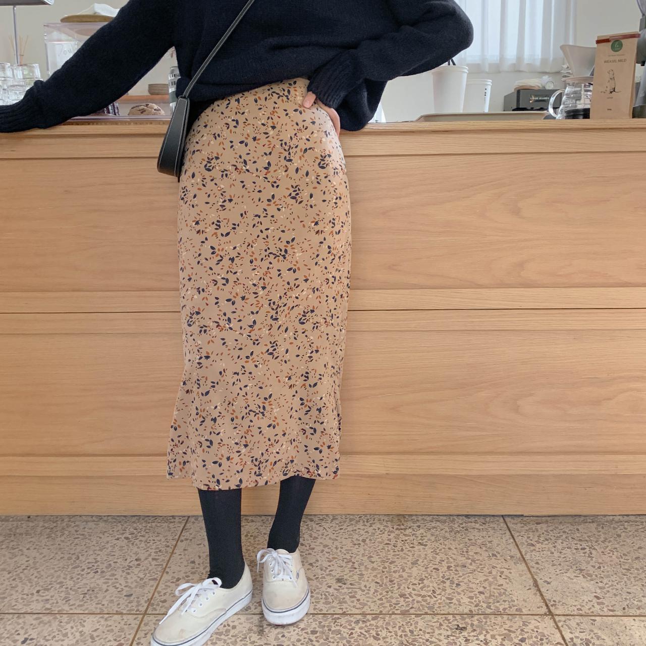Natural art skirt