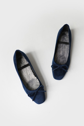 bwang velvet, shoes [fur lining]