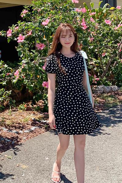 lovely flower dress