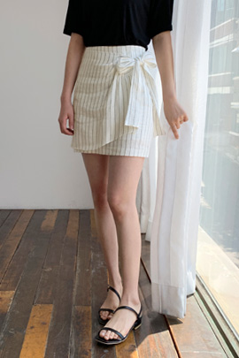 ribbon Stripe Skirt
