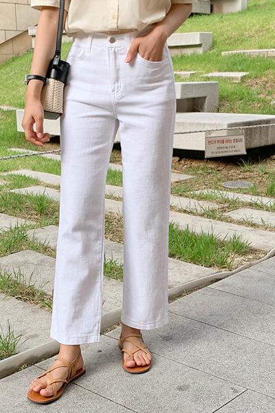 Summer wide cotton pants