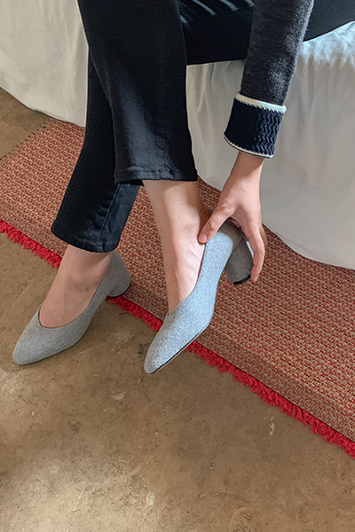 Suede Round shoes