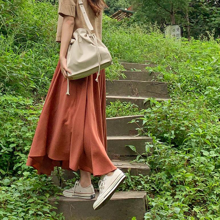 flared Long skirt