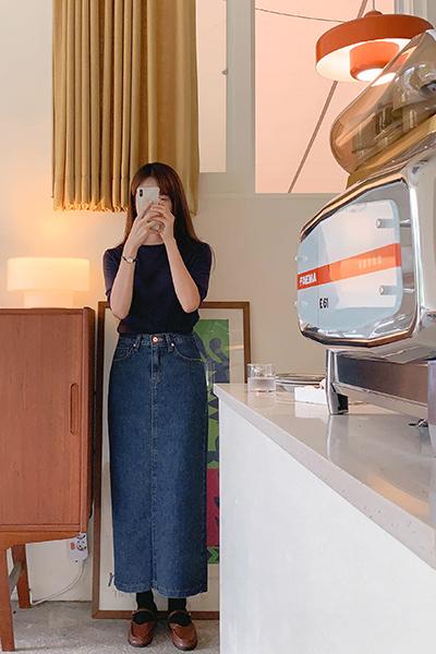 unique Denim Skirt