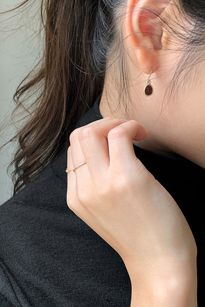 Vintage drop pierce