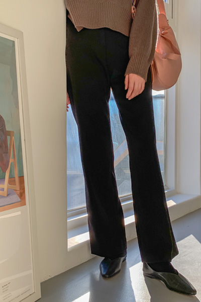 Silhouette long slacks