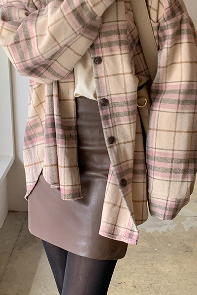 H line simple skirt