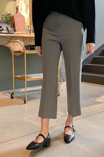 Basic straight slacks
