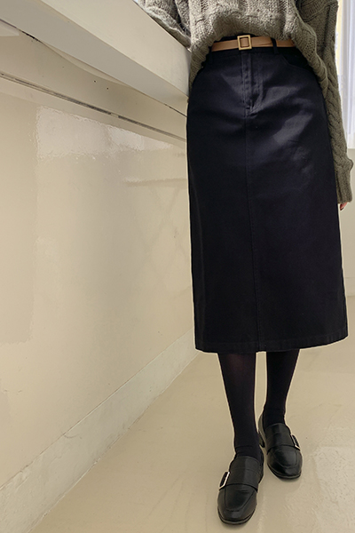 H line modern skirt