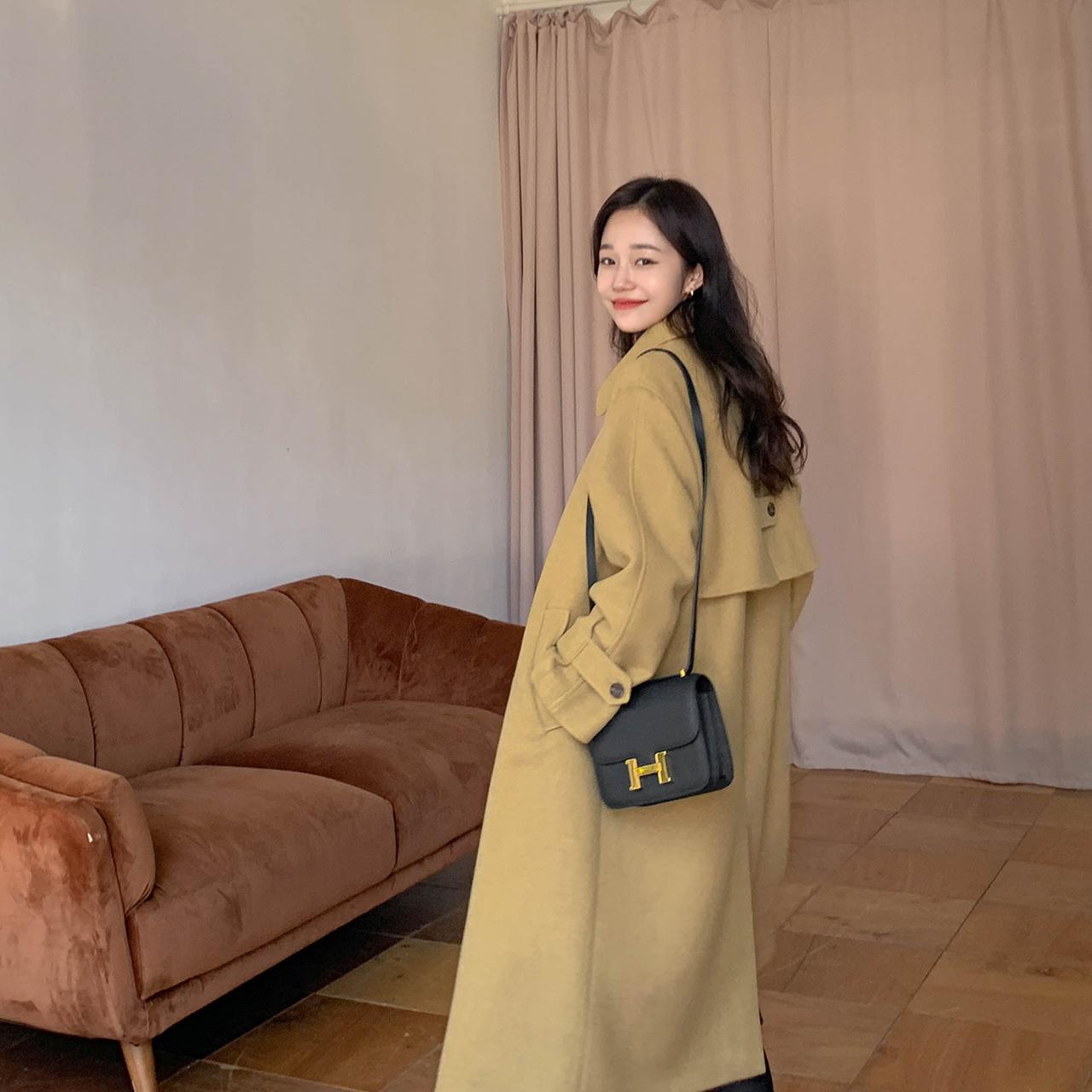 Stylish simple coat