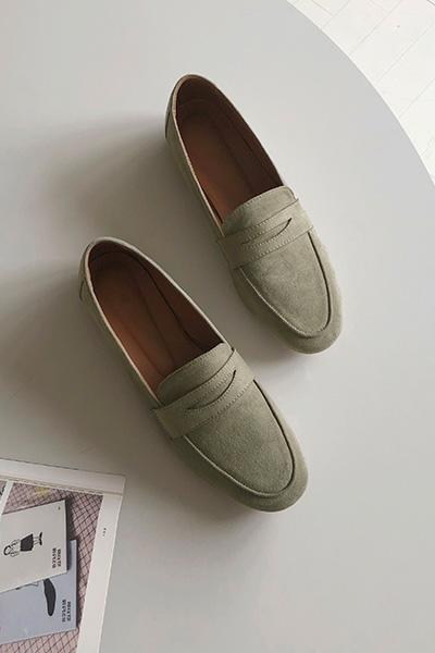 Classic feminine loafer