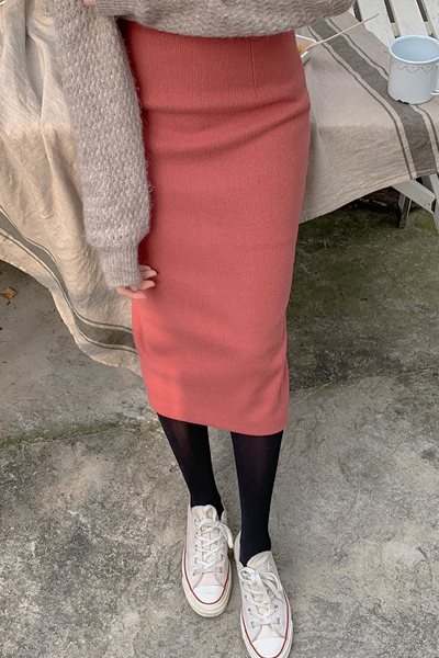 Casual H line skirt
