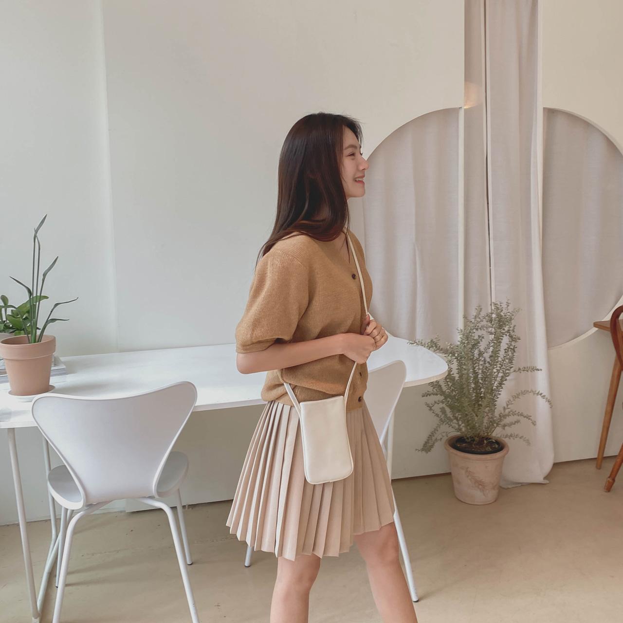SALLY pleats skirt