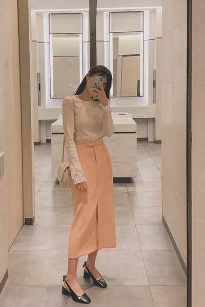 Simple fresh skirt