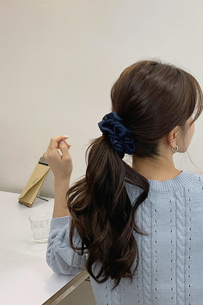 satin wave hairband