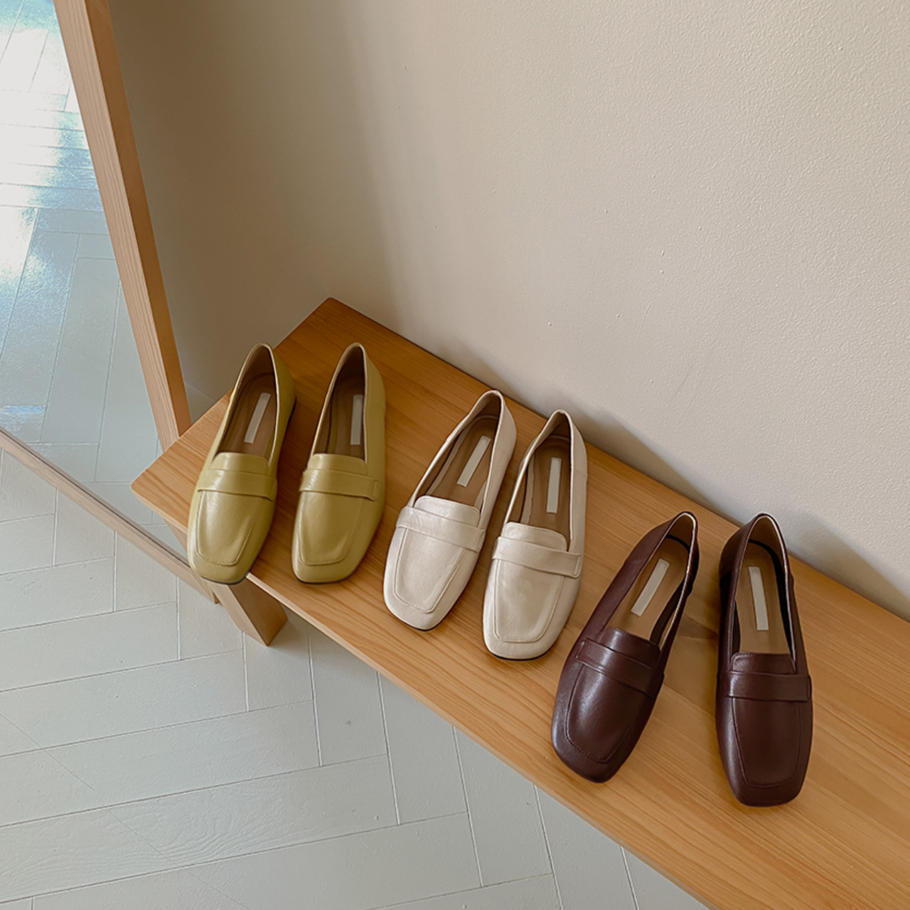 Square daily loafer