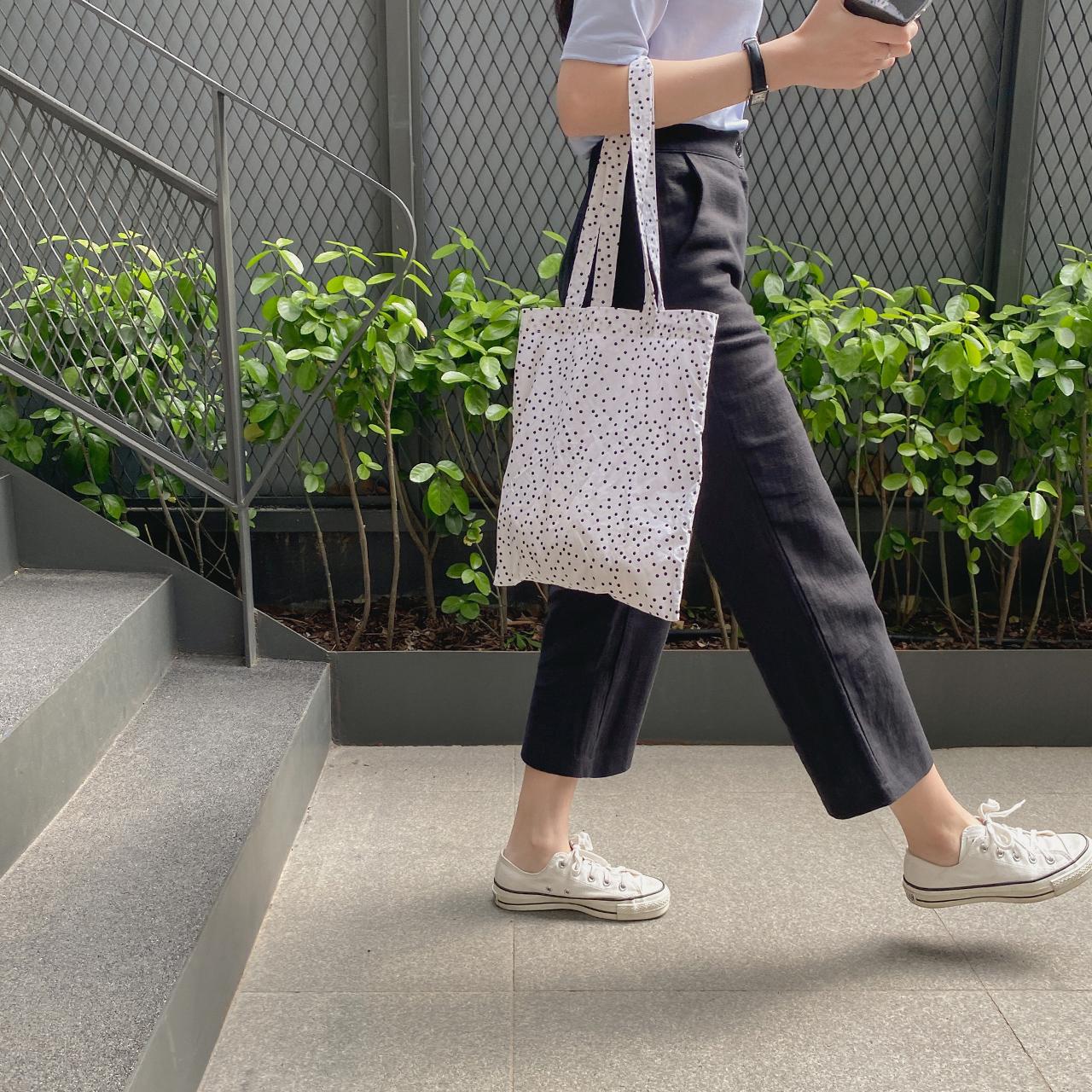 linen banding slacks