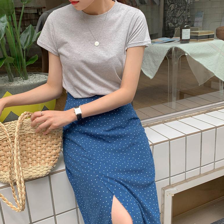 Blue Dot Skirt