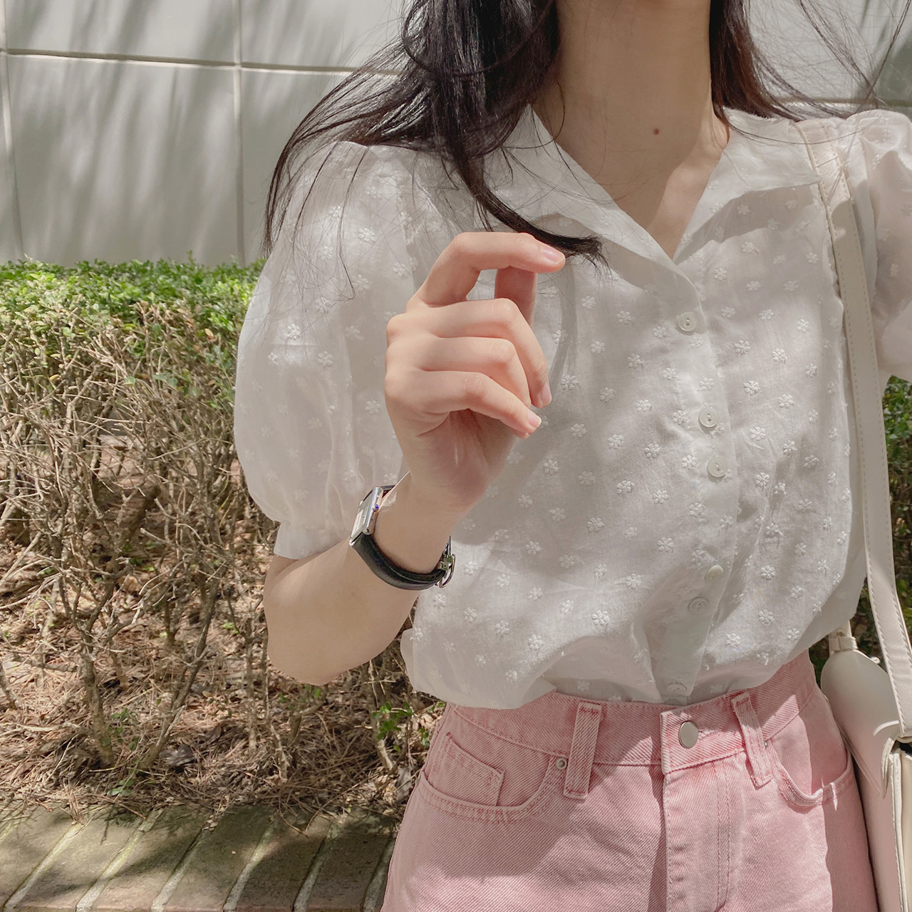 Eve embroidered blouse