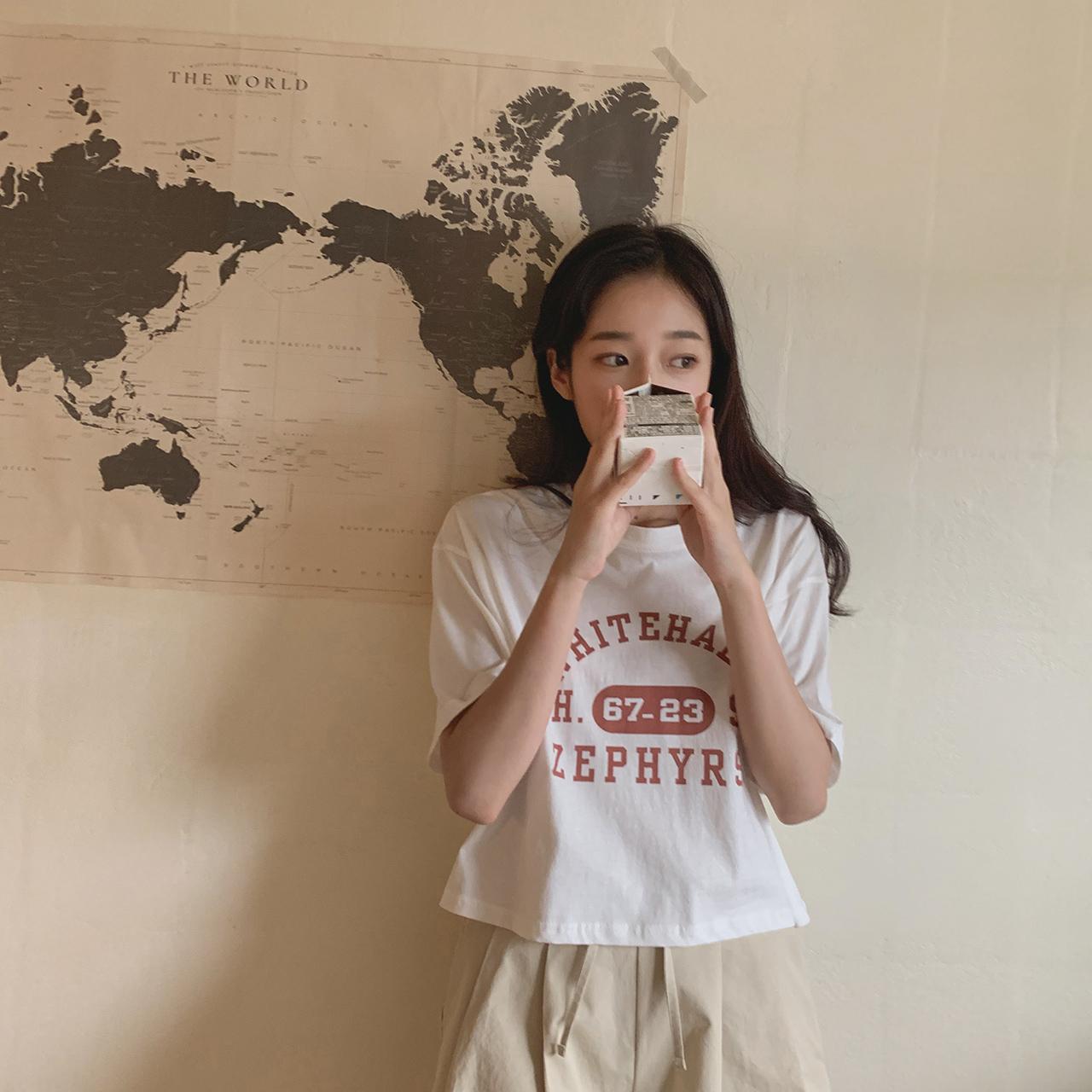Abelo cropped T-shirt