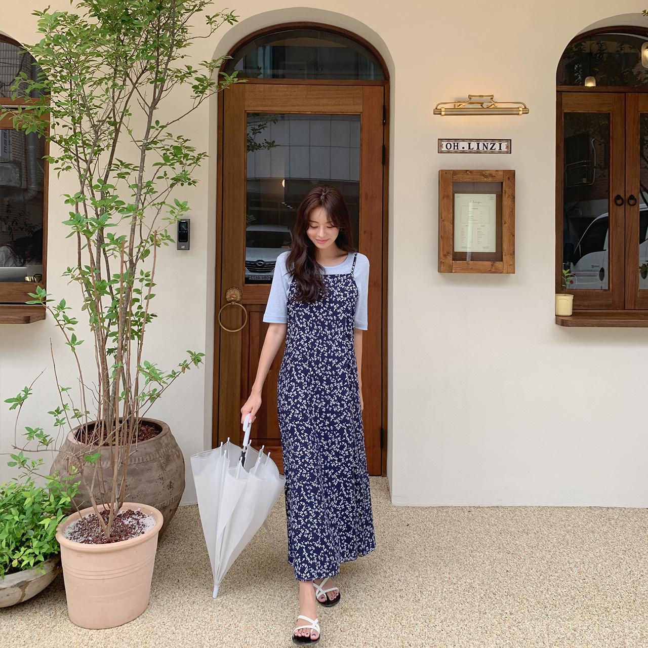 Linda Bustier Long Dress