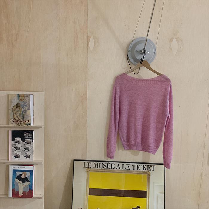 Perlin Lip Neck Knit