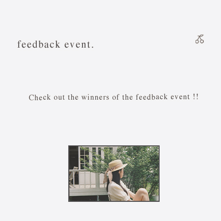 Check out the winners of the feedback event.