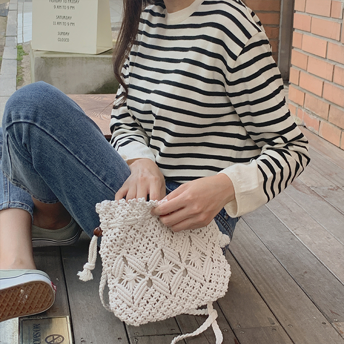 Milky Stripe Knit