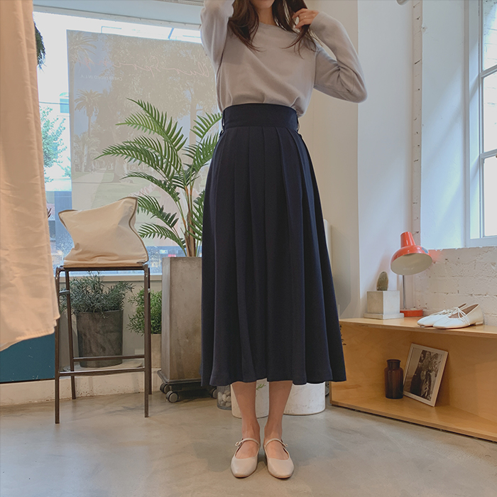 Loen Pleats Skirt
